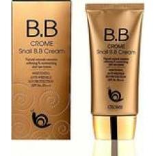 Восстанавливающий ББ/BB/ВВ крем с экстрактом улитки SPF50 PA++, 50 гр, CROM