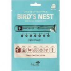 Маска тканевая для лица c экстрактом ласточкиного гнезда MJ CARE DAILY DEW MASK PACK BIRD'S NEST 25г