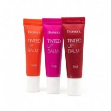 Бальзам - тинт для губ Deoproce Tinted Lip Balm 10мл.br/Цвет Коралловый
