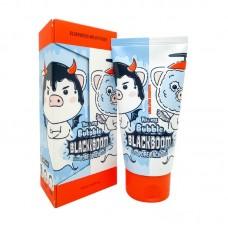Кислородная маска для очищения пор Elizavecca Hell-Pore Bubble Black Boom Pore Pack, 150мл.