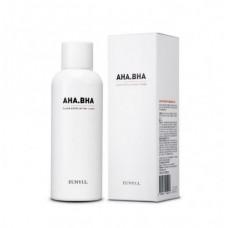 Отшелушивающий тонер с AHA и BHA кислотами для чистой кожи,EUNYUL