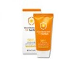 Нежный солнцезащитный крем 3W CLINIC Multi Protection UV SunBlock SPF50+/PA+++, 70мл