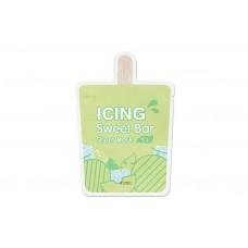 АП Маска-мороженное листовая  A'PIEU Icing Sweet Bar Sheet Mask (Melon)