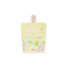 АП Маска-мороженное листовая  A'PIEU Icing Sweet Bar Sheet Mask (Pineapple)