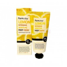 Крем для ног смягчающий с экстрактом лимона, 100 мл, FarmStay