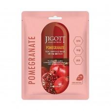 Тканевая маска Jigott Pomegranate Real Ampoule Mask