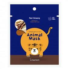 БР Animal Маска таканевая с экстрактом женьшеня Animal mask series - Tiger 25мл