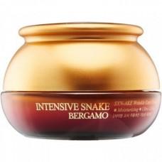 Крем с экстрактом змеиного яда антивозрастной, 50 гр, Bergamo