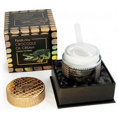 Питательный крем с жиром крокодила, 70 гр, FarmStay
