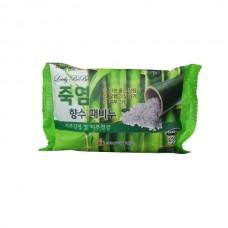 Мыло с отшелушивающим эффектом парфюмированное с бамбуковой солью, 120 мл, Medibeau