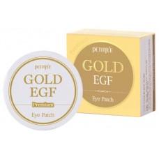 """Гидрогелевые патчи для глаз """"EGF и золото"""", PETITFEE"""