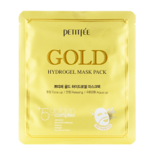 Гидрогелевая маска для лица с золотом, 32гр, PETITFEE