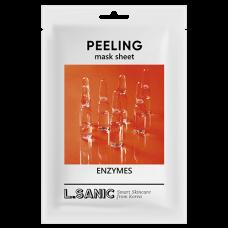 Обновляющая тканевая маска с энзимами, 25мл, L.SANIC