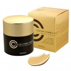 СС/CC крем с антивозрастным эффектом 5в1 Deoproce СС color combo creambr/Тон 21