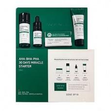 Набор для проблемной кожи с кислотами SOME BY MI AHA/BHA/PHA 30Days Miracle Starer Edition