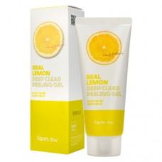 Отшелушивающий гель с экстрактом лимона, 100мл, FarmStay