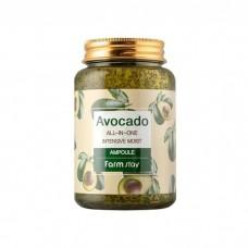 Многофункциональная ампульная сыворотка с авокадо 250 ml ,Farmstay