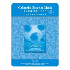 Маска тканевая для лица Хлорелла Chlorella Essence Mask 23гр