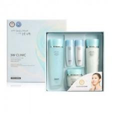 3W Clinic Excellent White Skincare 3 kit Set Набор отбеливающих средств для сухой и нормальной кожи