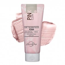 Очищающая пенка с розовой глиной Graceday Pink Clay Anti-Trouble Facial Foam