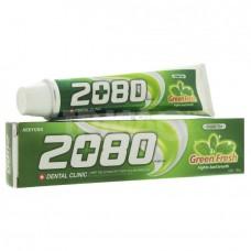 Зубная паста с зеленым чаем Dental Clinic 2080 Green Fresh Toothpaste 120g