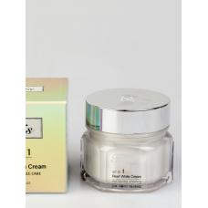 Крем с экстрактом жемчуга JIGOTT Facis All-in-one Pearl Whitening Cream