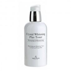 """Тонер для выравнивания тона лица, """"Crystal Whitening"""", 130 мл, The Skin House"""