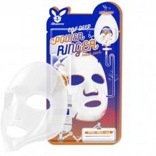 [Elizavecca] Ткан. маска д/лица с Эпидермальным фактор EGF DEEP POWER Ringer mask pack